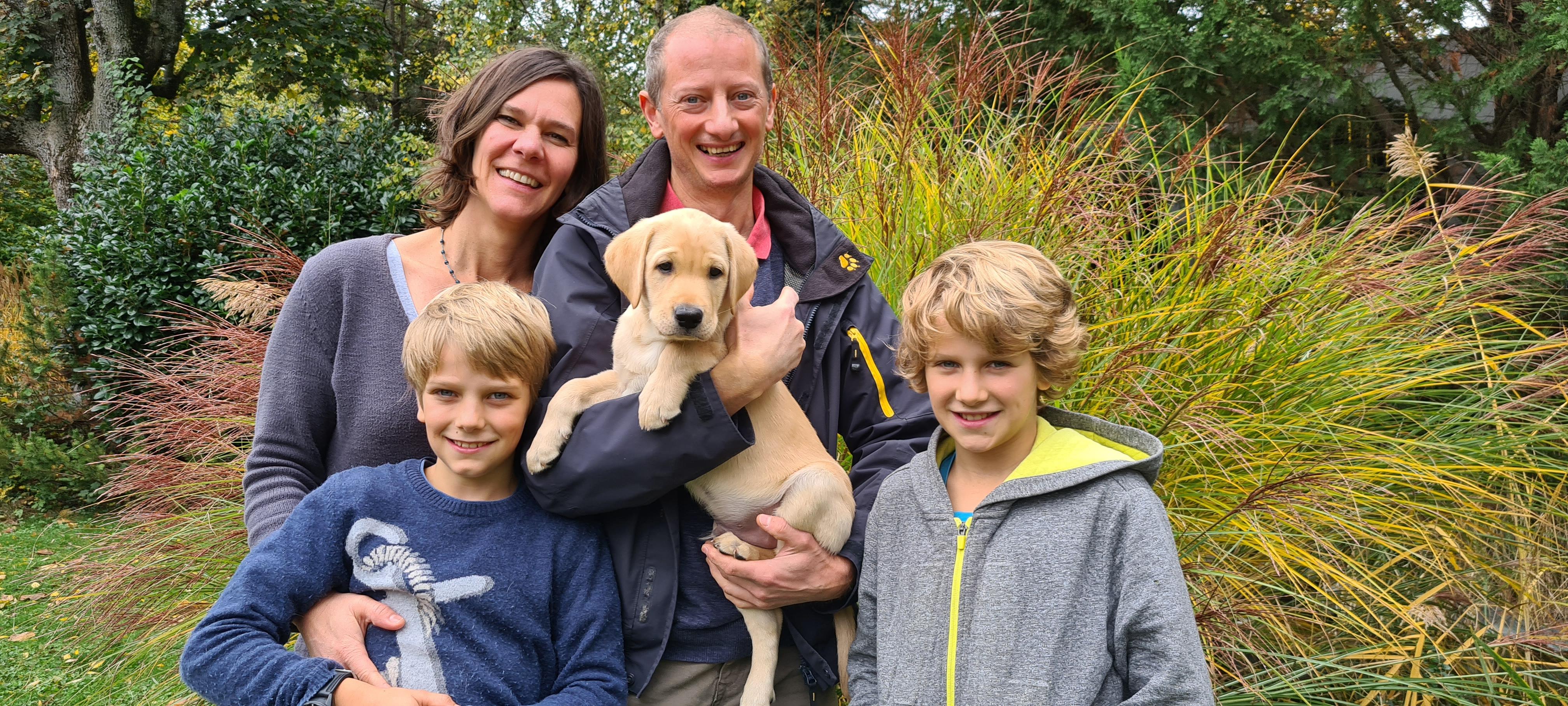 Hunting Treasures Arthur mit seiner neuen Familie